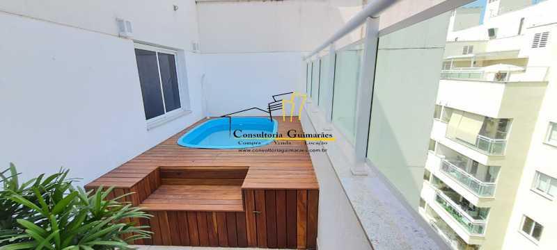 1754de9f-2f6f-40eb-92d0-22dae4 - Cobertura 3 quartos à venda Pechincha, Rio de Janeiro - R$ 650.000 - CGCO30018 - 25