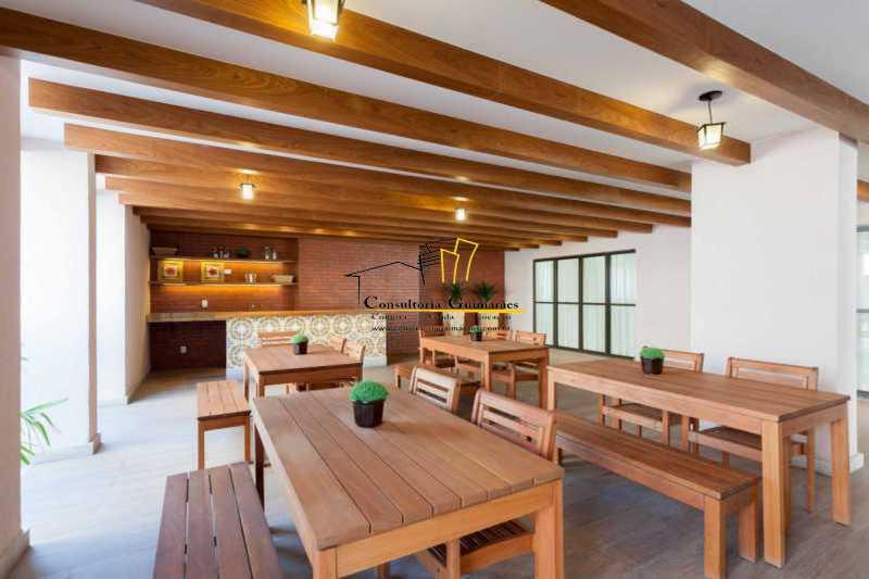 3e69f7b5-8388-4b84-bf85-018464 - Apartamento 3 quartos à venda Taquara, Rio de Janeiro - R$ 420.000 - CGAP30075 - 3