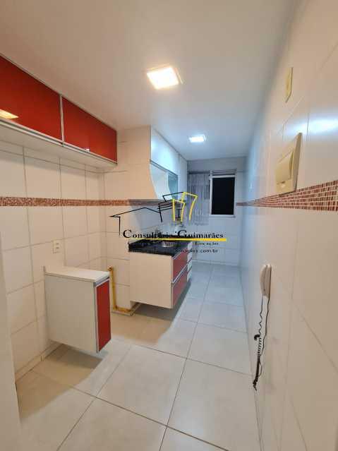 b0e360e4-ddf3-4a56-b42e-7eec41 - Apartamento 2 quartos para alugar Taquara, Rio de Janeiro - R$ 750 - CGAP20182 - 4