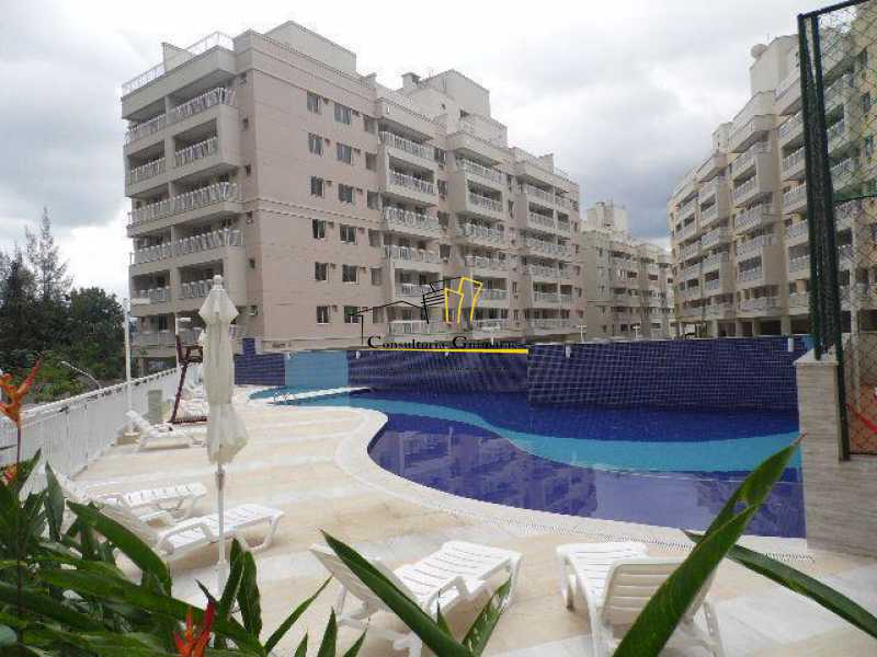 piscina - Cobertura 3 quartos à venda Taquara, Rio de Janeiro - R$ 599.000 - CGCO30019 - 1