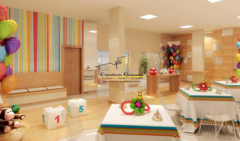salao infantil - Cobertura 3 quartos à venda Taquara, Rio de Janeiro - R$ 599.000 - CGCO30019 - 6