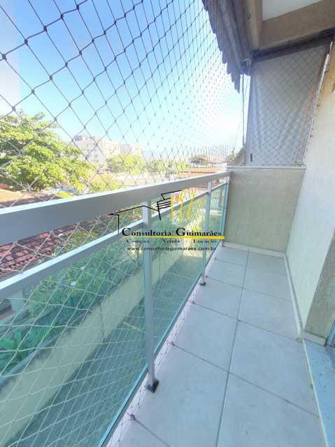 39a2aae9-e486-4271-a71c-594013 - Apartamento 2 quartos à venda Jacarepaguá, Rio de Janeiro - R$ 255.000 - CGAP20186 - 3