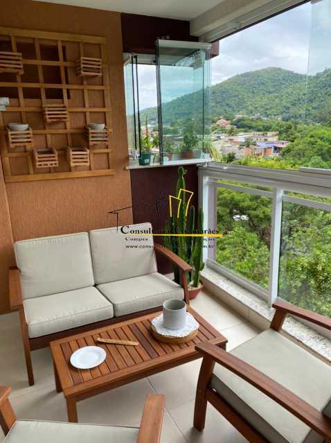 WhatsApp Image 2021-04-21 at 0 - Apartamento 3 quartos à venda Taquara, Rio de Janeiro - R$ 430.000 - CGAP30078 - 3