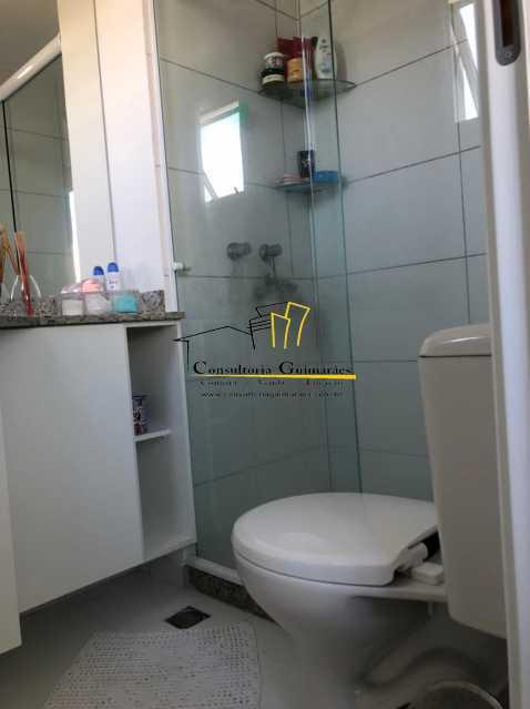 WhatsApp Image 2021-05-04 at 1 - Apartamento 3 quartos à venda Taquara, Rio de Janeiro - R$ 430.000 - CGAP30078 - 10