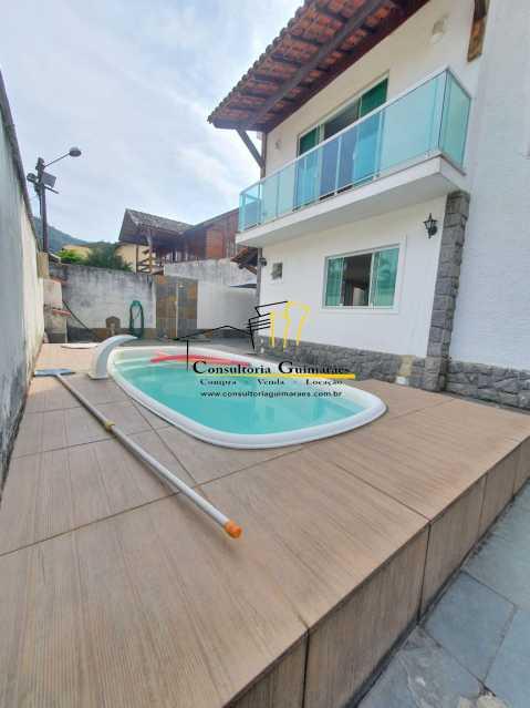2ae0c1fa-e076-4635-a105-ee2ec0 - Casa em Condomínio 3 quartos à venda Taquara, Rio de Janeiro - R$ 850.000 - CGCN30017 - 1
