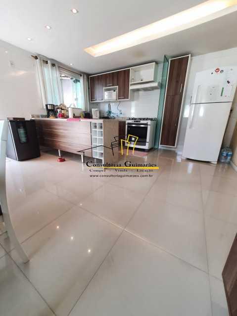 897e5392-dba3-4511-8682-378058 - Casa em Condomínio 3 quartos à venda Taquara, Rio de Janeiro - R$ 850.000 - CGCN30017 - 6