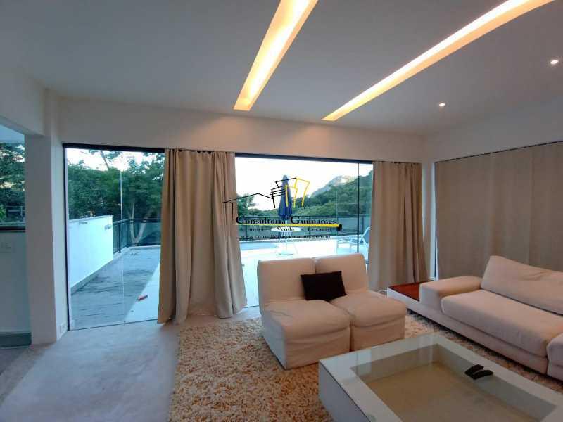 4c289f68-1300-4cb3-a9e1-559ab4 - Casa em Condomínio 5 quartos à venda Itanhangá, Rio de Janeiro - R$ 4.600.000 - CGCN50006 - 4
