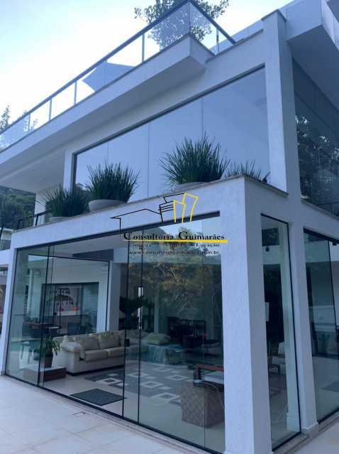 a681a80d-9306-4dd1-bed5-b7d1e2 - Casa em Condomínio 5 quartos à venda Itanhangá, Rio de Janeiro - R$ 4.600.000 - CGCN50006 - 1