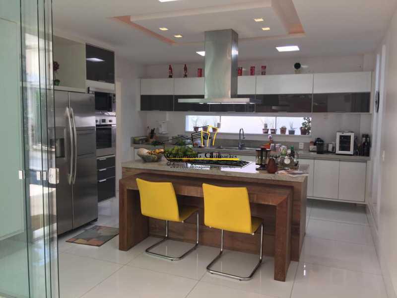 1 - Casa em Condomínio 5 quartos à venda Barra da Tijuca, Rio de Janeiro - R$ 4.999.000 - CGCN50007 - 9