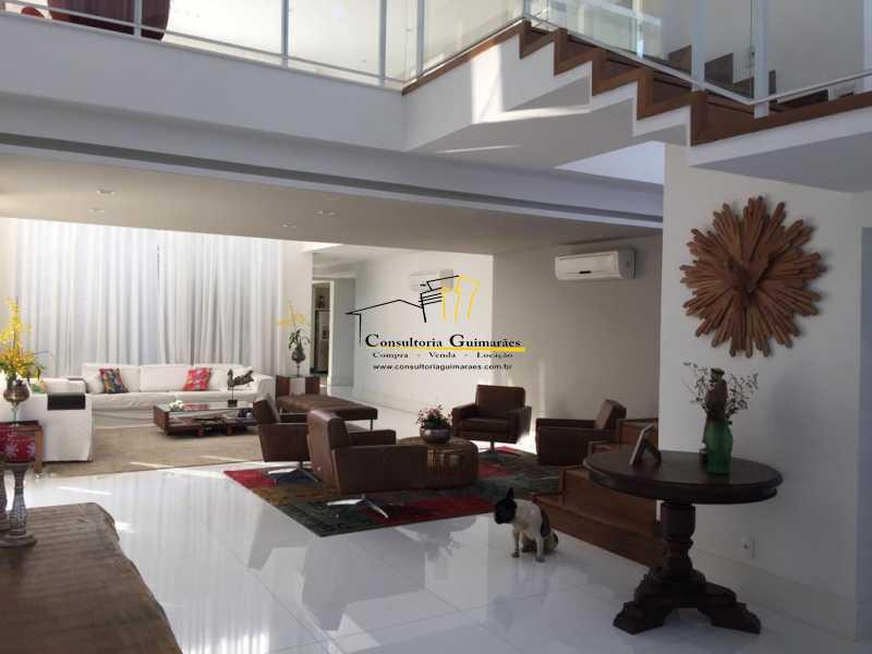 14 - Casa em Condomínio 5 quartos à venda Barra da Tijuca, Rio de Janeiro - R$ 4.999.000 - CGCN50007 - 12