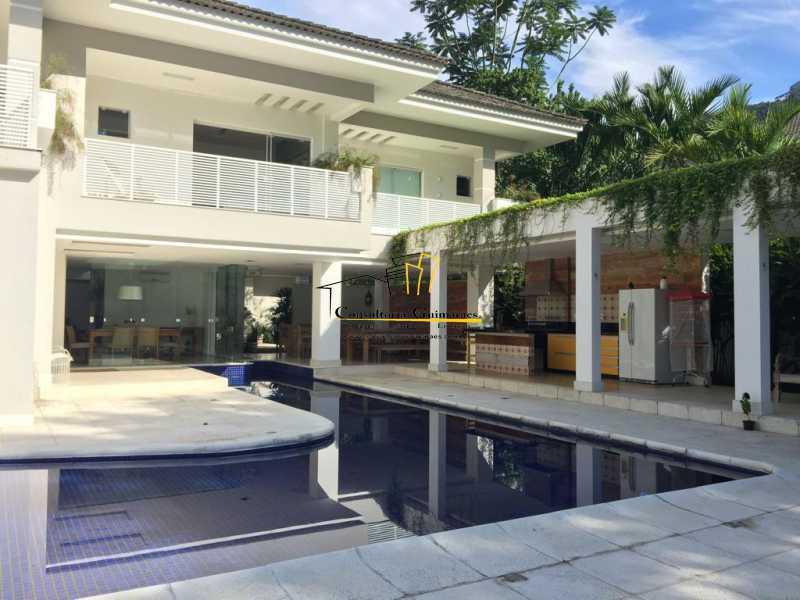 16 - Casa em Condomínio 5 quartos à venda Barra da Tijuca, Rio de Janeiro - R$ 4.999.000 - CGCN50007 - 3