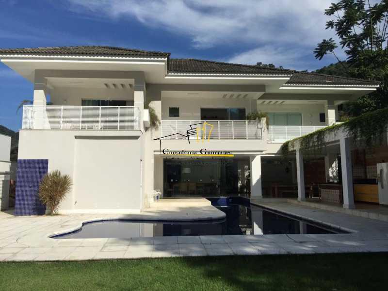 17 - Casa em Condomínio 5 quartos à venda Barra da Tijuca, Rio de Janeiro - R$ 4.999.000 - CGCN50007 - 1