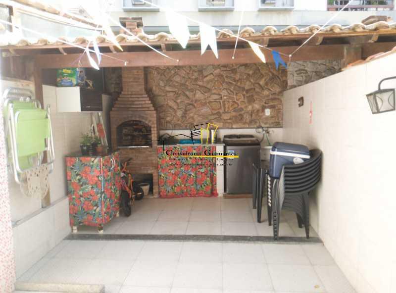 WhatsApp Image 2021-07-01 at 1 - Casa 4 quartos mobiliada Taquara - CGCN40018 - 12
