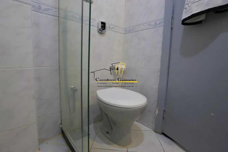Banheiro-Suite-1-a - Apartamento 2 quartos à venda Maracanã, Rio de Janeiro - R$ 480.000 - CGAP20208 - 7
