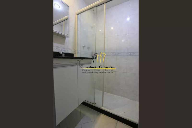 Banheiro-Suite-2-a - Apartamento 2 quartos à venda Maracanã, Rio de Janeiro - R$ 480.000 - CGAP20208 - 21