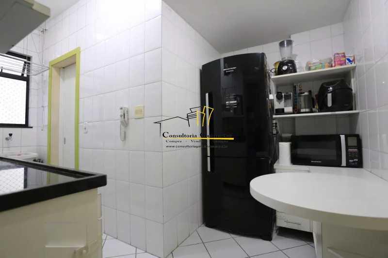 Cozinha-1-a - Apartamento 2 quartos à venda Maracanã, Rio de Janeiro - R$ 480.000 - CGAP20208 - 8