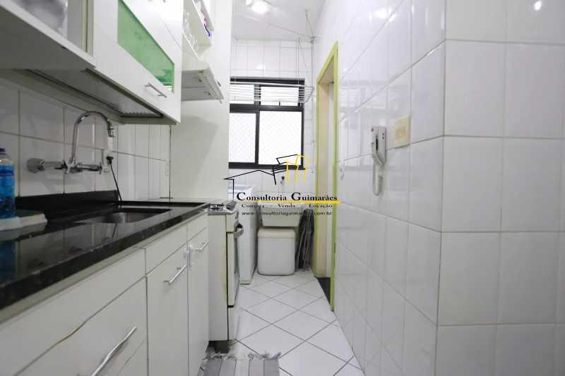 Cozinha-2-a - Apartamento 2 quartos à venda Maracanã, Rio de Janeiro - R$ 480.000 - CGAP20208 - 9
