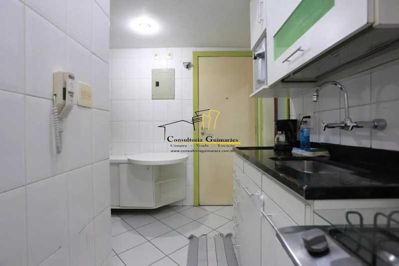 Cozinha-3-a - Apartamento 2 quartos à venda Maracanã, Rio de Janeiro - R$ 480.000 - CGAP20208 - 10