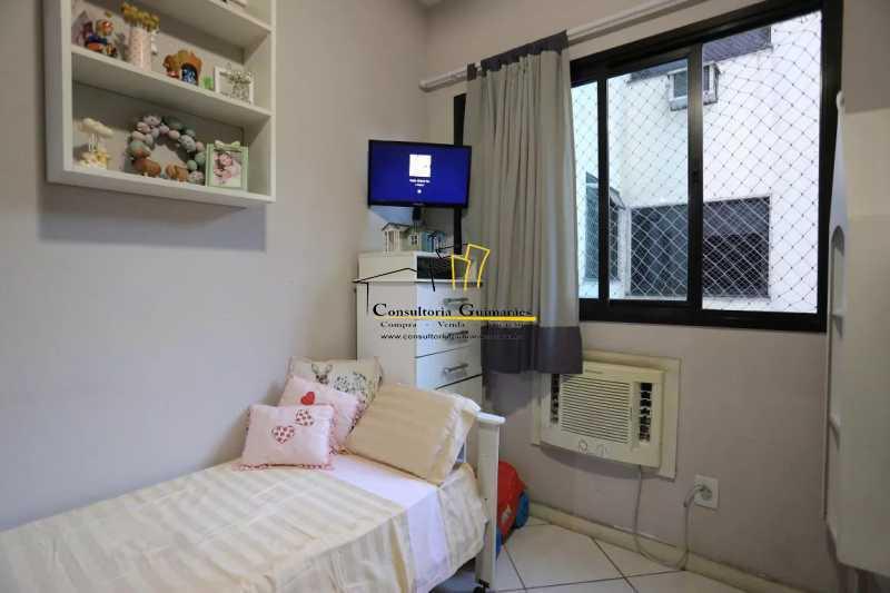Quarto-2-a - Apartamento 2 quartos à venda Maracanã, Rio de Janeiro - R$ 480.000 - CGAP20208 - 13