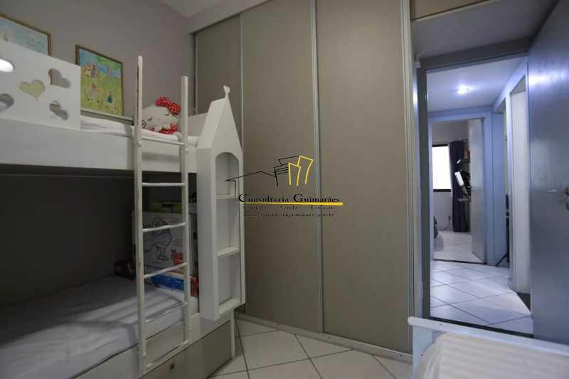 Quarto-3-a - Apartamento 2 quartos à venda Maracanã, Rio de Janeiro - R$ 480.000 - CGAP20208 - 14