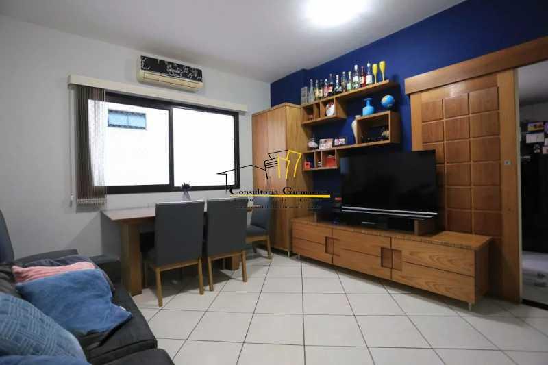 Sala-1-a - Apartamento 2 quartos à venda Maracanã, Rio de Janeiro - R$ 480.000 - CGAP20208 - 1
