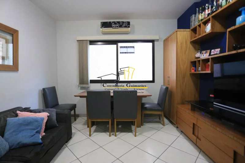 Sala-2-a - Apartamento 2 quartos à venda Maracanã, Rio de Janeiro - R$ 480.000 - CGAP20208 - 5