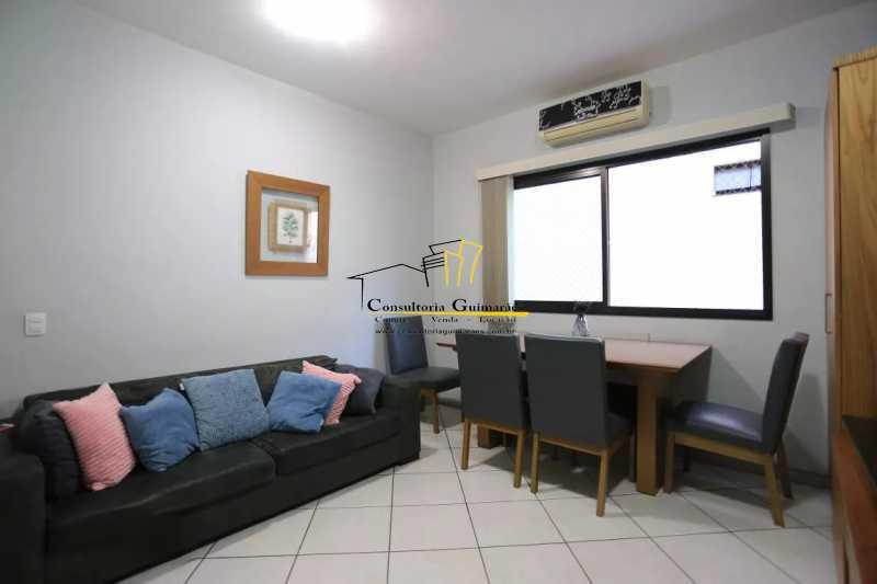 Sala-4-a - Apartamento 2 quartos à venda Maracanã, Rio de Janeiro - R$ 480.000 - CGAP20208 - 4