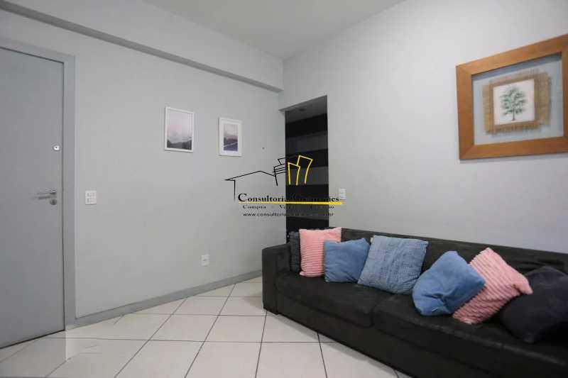 Sala-5-a - Apartamento 2 quartos à venda Maracanã, Rio de Janeiro - R$ 480.000 - CGAP20208 - 6