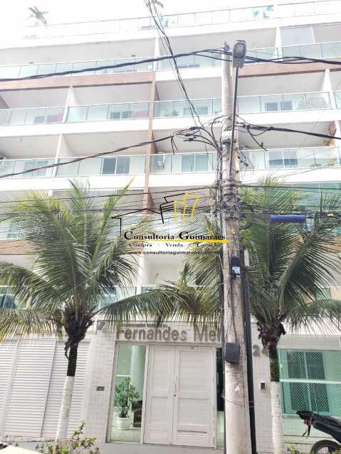 77e55670-ac3e-4ad1-ab07-89e3d6 - Apartamento 1 quarto para alugar Recreio dos Bandeirantes, Rio de Janeiro - R$ 1.300 - CGAP10018 - 1