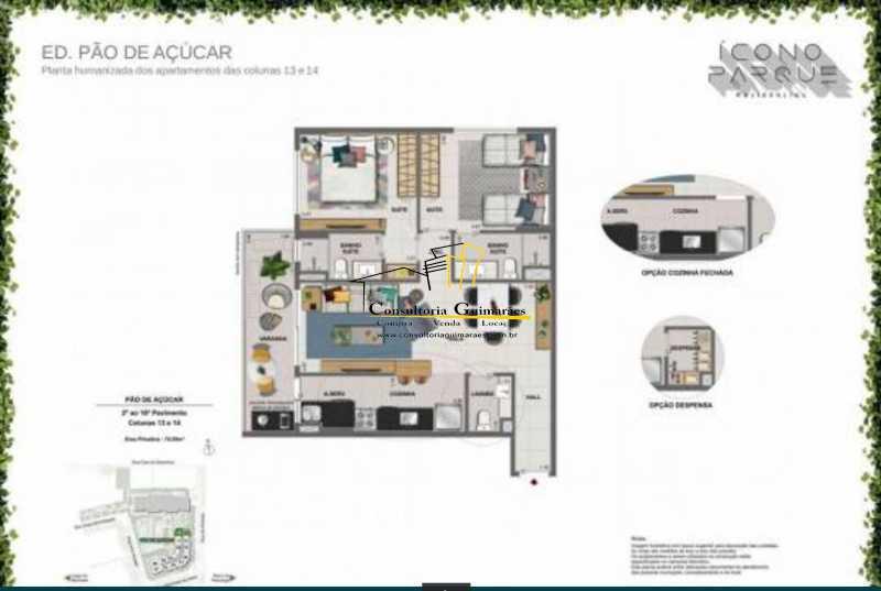 fe4d5bfb-7044-4c02-8e42-b21926 - Magnífico apartamento 2 Qts - Flamengo - CGAP20216 - 5