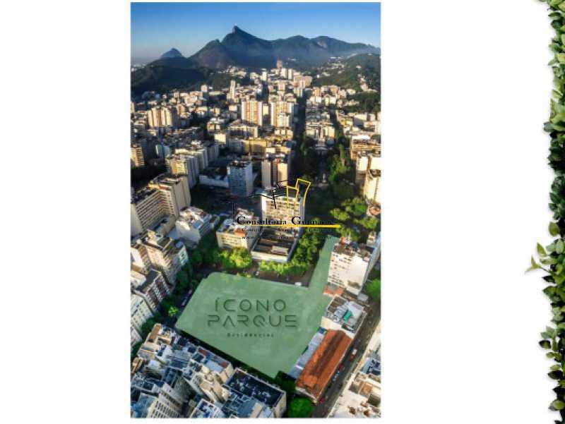 lançamento-icono-parque-flame - Magnífico apartamento 2 Qts - Flamengo - CGAP20216 - 4