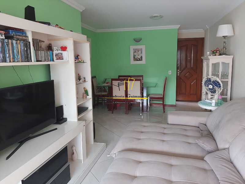 96ecead3-63d5-4d4c-ac10-4e587e - Excelente Apartamento 3 quartos (1 suíte) - Recreio dos Bandeirantes - CGAP30083 - 1