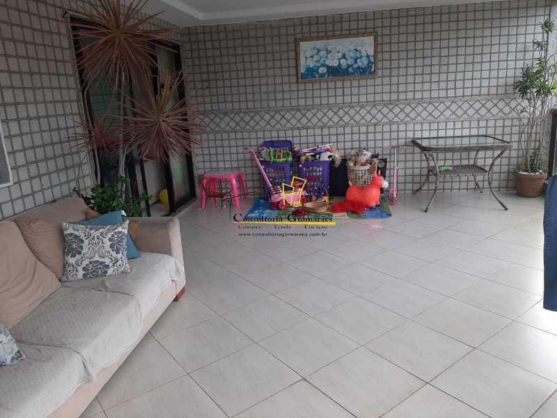 03185c69-ac7c-4c0b-afb1-caaa6f - Excelente Apartamento 3 quartos (1 suíte) - Recreio dos Bandeirantes - CGAP30083 - 15