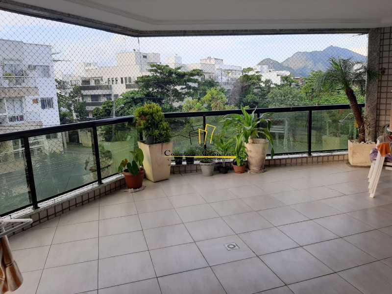 e4113a43-ea06-4624-9889-36f16f - Excelente Apartamento 3 quartos (1 suíte) - Recreio dos Bandeirantes - CGAP30083 - 16