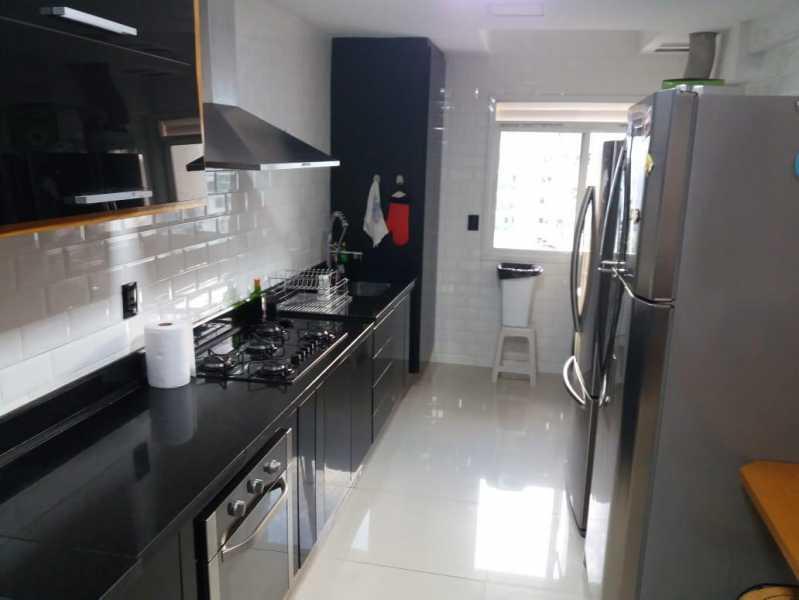 Cozinha. - Cobertura 2 quartos à venda Barra da Tijuca, Rio de Janeiro - R$ 1.650.000 - CGCO20002 - 6