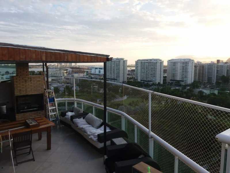 Terraço 4. - Cobertura 2 quartos à venda Barra da Tijuca, Rio de Janeiro - R$ 1.650.000 - CGCO20002 - 12