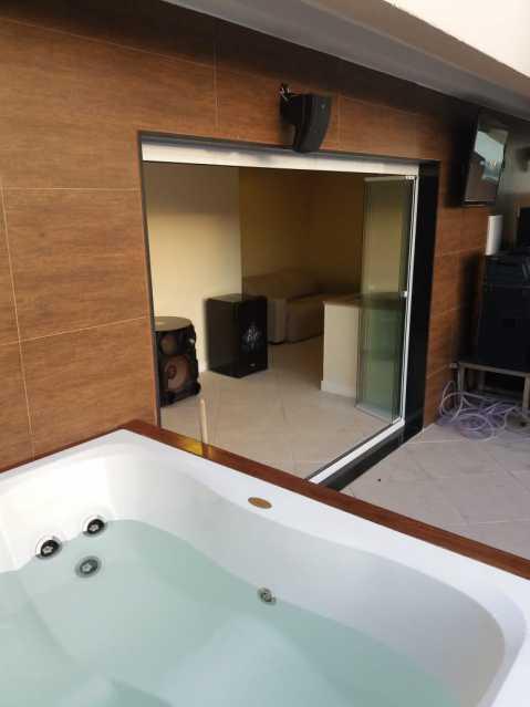 Terraço 5. - Cobertura 2 quartos à venda Barra da Tijuca, Rio de Janeiro - R$ 1.650.000 - CGCO20002 - 13