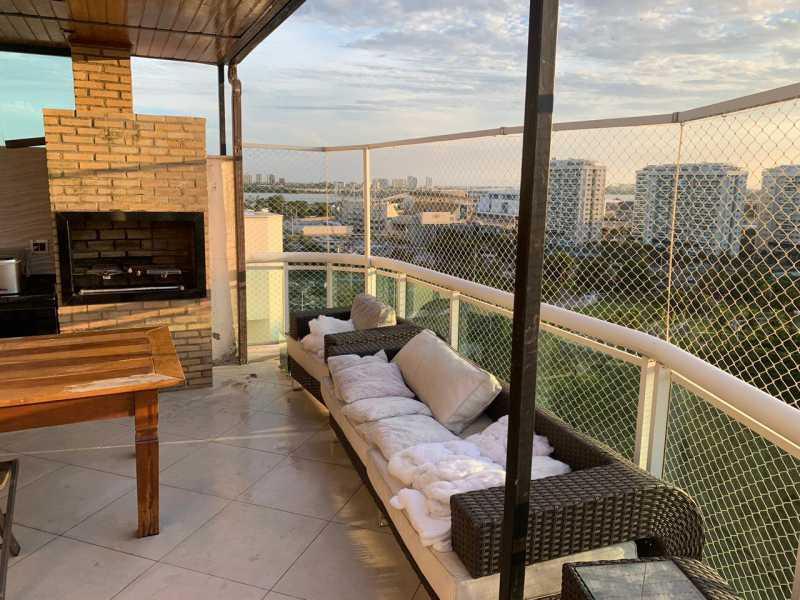 Terraço 12. - Cobertura 2 quartos à venda Barra da Tijuca, Rio de Janeiro - R$ 1.650.000 - CGCO20002 - 17
