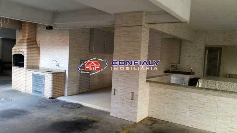 19 - Churrasqueira - Apartamento 2 quartos à venda Vila da Penha, Rio de Janeiro - R$ 450.000 - MLAP20113 - 20