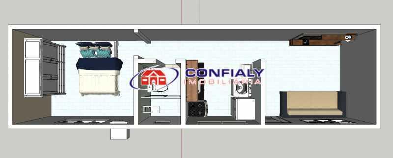 374_G1616417833 - Kitnet/Conjugado 18m² à venda Madureira, Rio de Janeiro - R$ 75.000 - MLKI10003 - 16
