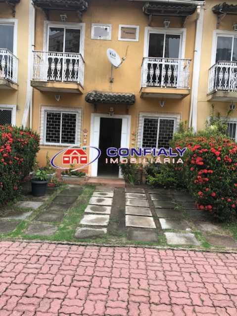 Quintal e entrada da casa 02 - Casa em Condomínio à venda Rua das Hortências,Vila Valqueire, Rio de Janeiro - R$ 480.000 - MLCN20028 - 1