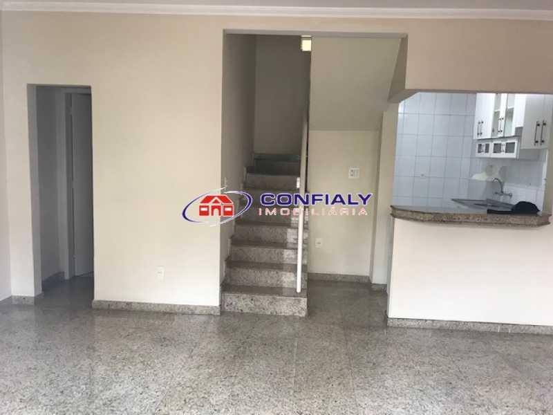 Vista entrada casa 01 - Casa em Condomínio à venda Rua das Hortências,Vila Valqueire, Rio de Janeiro - R$ 480.000 - MLCN20028 - 5