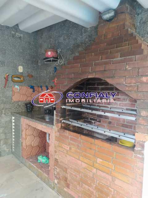 churrasqueira - Casa à venda Rua Marapendi,Marechal Hermes, Rio de Janeiro - R$ 630.000 - MLCA50007 - 4