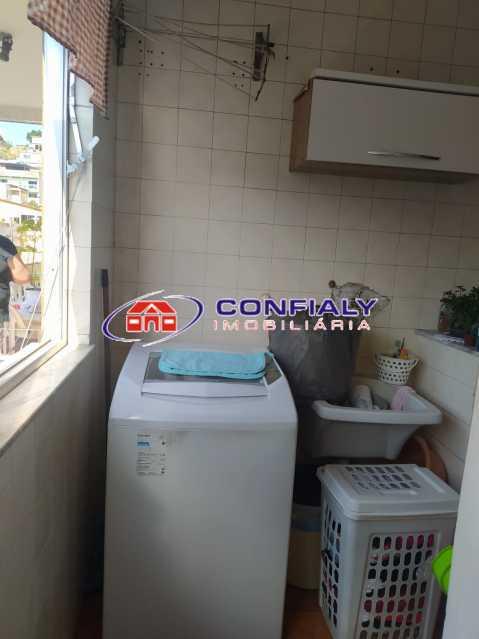 área de serviço - Apartamento à venda Rua Jerônimo Pinto,Campinho, Rio de Janeiro - R$ 200.000 - MLAP20185 - 11