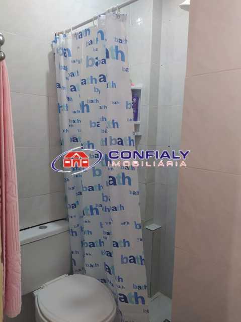 banheiro empregadaa - Apartamento à venda Rua Jerônimo Pinto,Campinho, Rio de Janeiro - R$ 200.000 - MLAP20185 - 6
