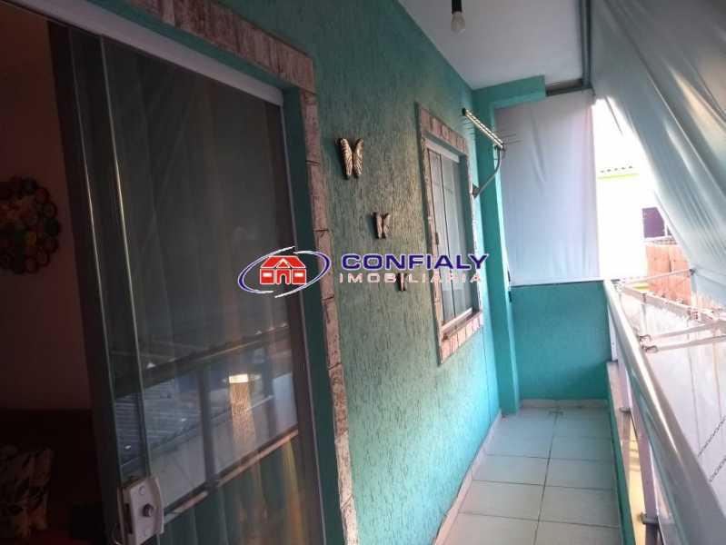 varanda - Apartamento à venda Rua Óbidos,Bento Ribeiro, Rio de Janeiro - R$ 160.000 - MLAP20187 - 3
