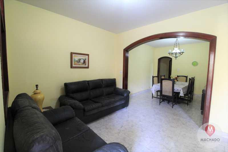 4 - Sala - CASA À VENDA EM ARARUAMA - PARQUE HOTEL - CI-0328 - 5