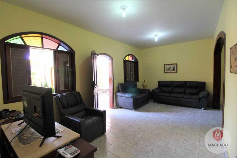 7 - Sala - CASA À VENDA EM ARARUAMA - PARQUE HOTEL - CI-0328 - 7