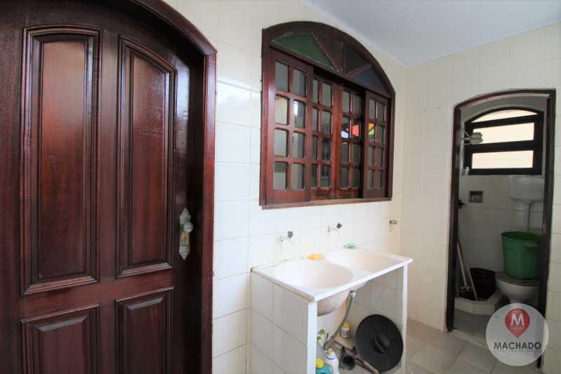 16 - Área de Serviço - CASA À VENDA EM ARARUAMA - PARQUE HOTEL - CI-0328 - 16