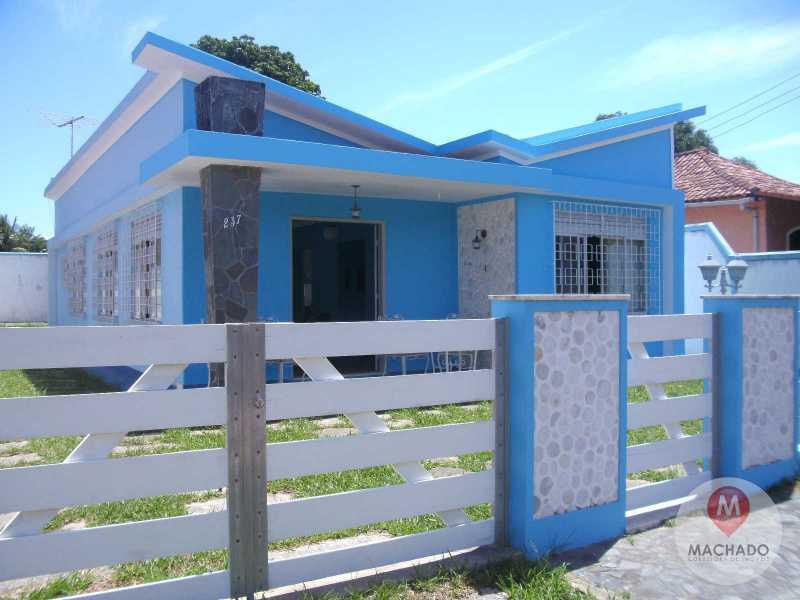 2 - Fachada - CASA À VENDA EM ARARUAMA - IGUABINHA - CI-0115 - 3